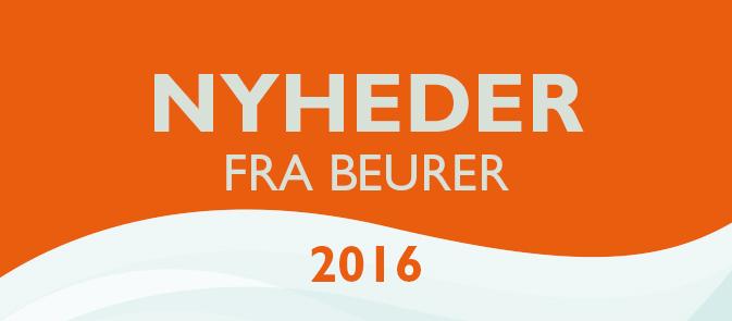 Skønhed og varme fra Beurer 2016