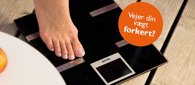 Vejer din vægt forkert? Find ud af hvorfor!