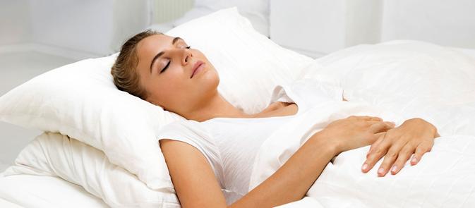 Husk at sove sundt!