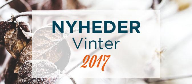 Efterår-Vinternyheder 2017