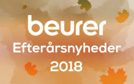 Beurer efterårsnyheder 2018